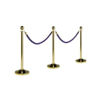 AMMRSCLG - American Metalcraft - RSCLG - Gold Plated Stanchion Product Image