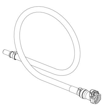 26638 - Vitamix - 1422 - Rinse-o-matic® Hose Replacement Kit Product Image
