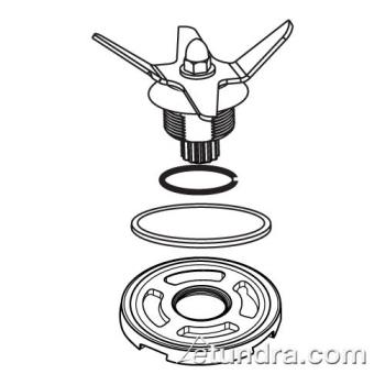 WAR030889 - Waring - 030889 - Blade Assembly Kit Product Image