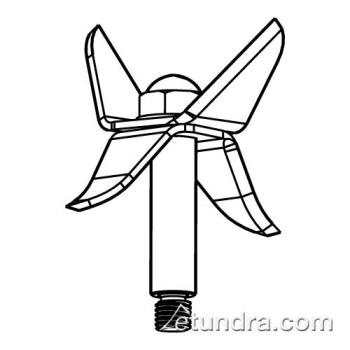 WAR503354 - Waring - 503378 - Blade & Shaft Assembly Product Image