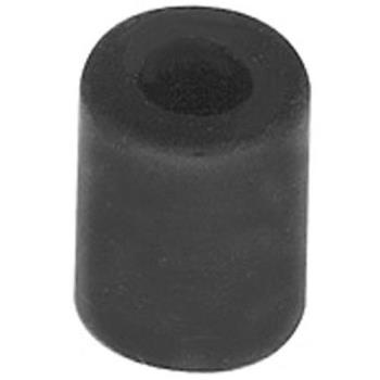 "281056 - Waring - 002891 - 1/2"" x 3/4"" Black Rubber Foot Product Image"