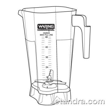 WAR030855 - Waring - 030855 - 48 Oz Jar Only Product Image