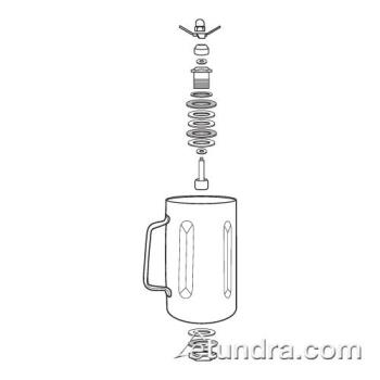 WAR500758 - Waring - 500758 - Stainless Steel Container w/ Blending Assembly Product Image
