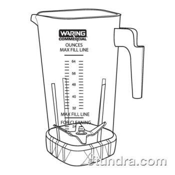 WAR503398 - Waring - 503398 - 64 Oz Jar & Blending Assembly Product Image