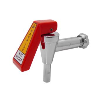 13827 - Bunn - 02596.1009 - Faucet Assembly With Red Handle Product Image