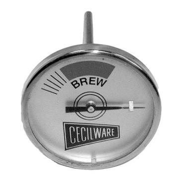 621052 - Cecilware - L007A - 2 in Brew Thermometer Product Image