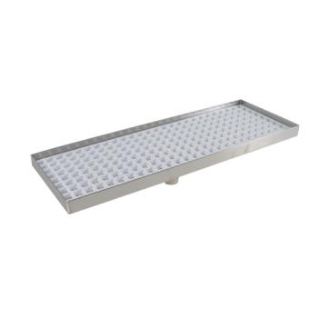 "11585 - Infra Corporation - DT5515TH - 15"" x 5 1/2"" x 3/4"" Countertop Drain Tray Product Image"