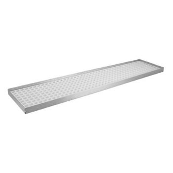 "11586 - Infra Corporation - DT5524TH - 24"" x 5 1/2"" x 3/4"" Countertop Drain Tray Product Image"