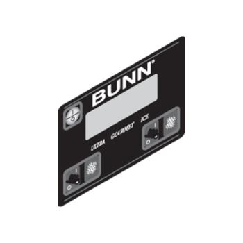 26819 - Bunn - 32126.1004 - Membrane Switch - Black Product Image