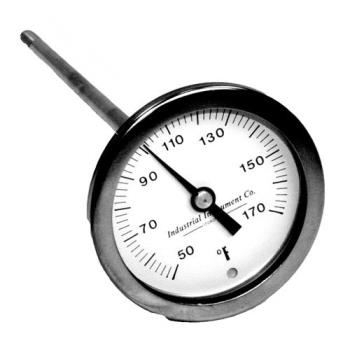 621051 - Champion - 0501600 - 50° - 170° Glasswasher Temperature Gauge Product Image