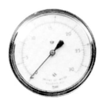 621105 - Nieco - 16038 - Gas Pressure Gauge Product Image