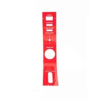 8008191 - Southbend - 7002-1 - Panel Label - Red Product Image