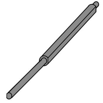 263969 - Middleby Marshall - MD42400-0355 - Front Drive Shaft Product Image