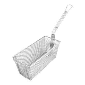 63110 - Commercial - 5 3/4 in x 13 1/4 in x 5 3/4 in Fryer Basket Product Image