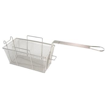 "63155 - FMP - 225-1031 - Fryer Basket 12"" x 6 3/8"" x 5 1/2"" Product Image"