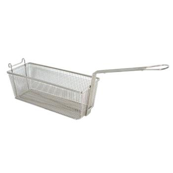 "63156 - FMP - 225-1032 - Fryer Basket 14 3/4"" x 5 7/8"" x 5 1/4"" Product Image"