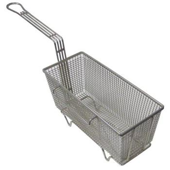 261536 - FMP - 225-1036 - 5 5/8 in x 13 1/4 in x 5 5/8 in Twin Fry Basket w/Right Hook. Product Image