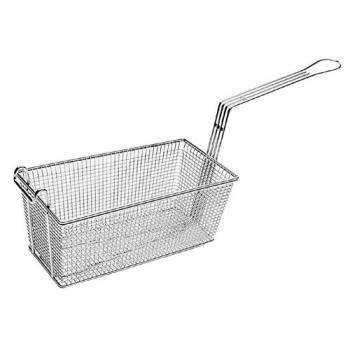 261530 - FMP - 225-1042 - 16 1/2 in X 8 3/4 in X 5 15/16 in Twin Fryer Basket w/ Hook Product Image