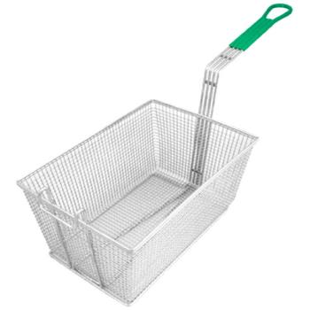 "63150 - FMP - 225-1066 - Fryer Basket 9 1/4"" x 13 1/4"" x 6"" Product Image"