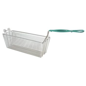 "63114 - FMP - 225-1071 - Heavy Duty Fryer Basket 17 1/8"" x 5 3/4"" x 6"" Product Image"