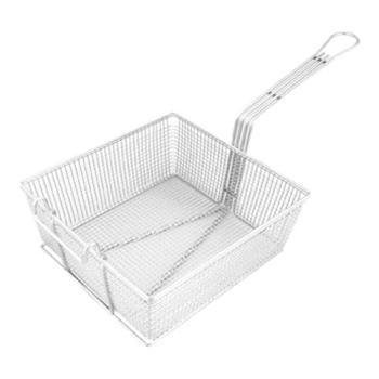 "63112 - FMP - 225-1089 - Fryer Basket 10 3/4"" x 11"" x 4 1/4"" Product Image"