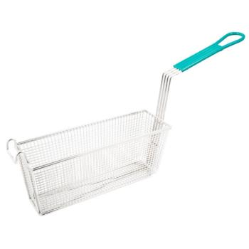 63123 - FMP - 225-5009 - Teal Handle Fry Basket Product Image