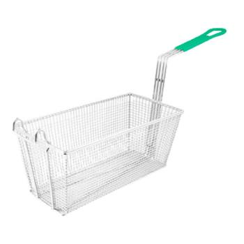 63126 - Update International - FB-126PH - 6 1/2 in x 13 in x 5 1/4 in Fryer Basket Product Image