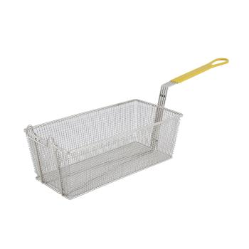 63151 - Winco - FB-40 - 8 1/4 in x 17 in x 6 in Fryer Basket Product Image