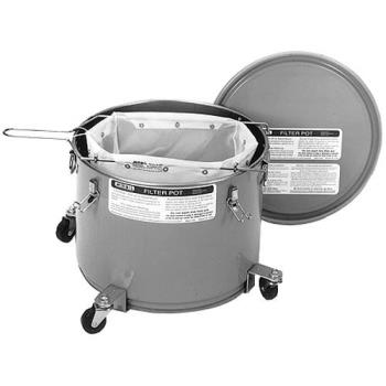 761191 - Miroil - 60LBKC - 55 LB Oil Filter Pot & Lid w/ Casters Product Image