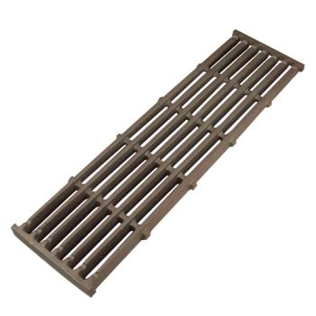 "61203 - Star - 2F-Y8830 - 5 3/4"" x 20 1/2"" Cast Iron Top Grate Product Image"