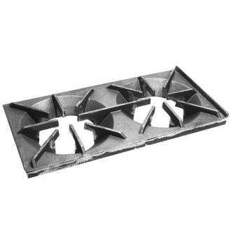 "61293 - Commercial - 1181 - 12"" x 24"" Cast Iron Range Grate Product Image"