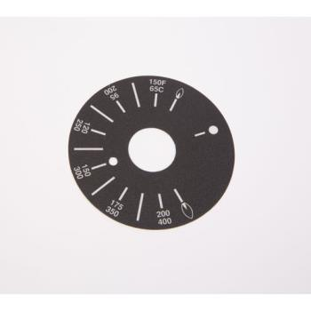 8002030 - APW Wyott - 8705516 - Ggt Griddles Dial Plate Product Image