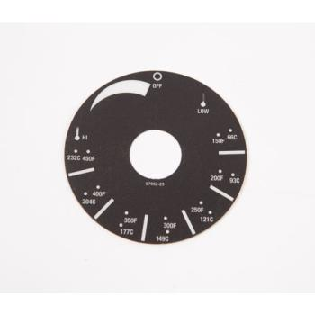 8002033 - APW Wyott - 8706225 - Decal Dial Plate Product Image