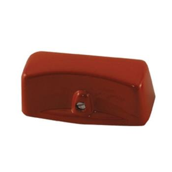 61104 - Commercial - Red Metal Burner Valve Knob Product Image