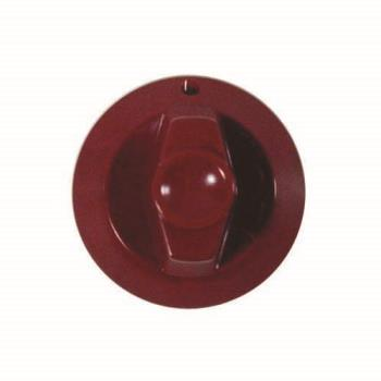 61105 - Commercial - Red Plastic Burner Valve Knob Product Image