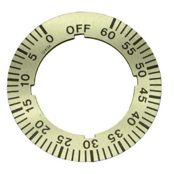 221494 - Garland - 1314134 - Off-0-60 Minute Dial Insert Product Image