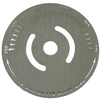 221190 - Keating - 034977 - 250° - 375° Dial Plate Product Image