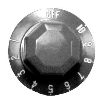 221271 - Vulcan Hart - 418061-1 - Off-10-1 Knob Product Image
