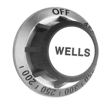 221181 - Wells - 2R-30259 - 200° - 450° Thermostat Dial Product Image