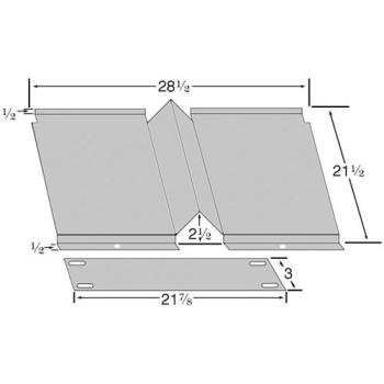 263560 - Blodgett - 17861 - Oven Bottom Deflector Product Image