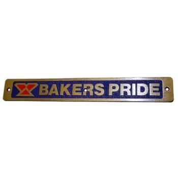 61511 - Baker's Pride - U1043X - Nameplate Product Image
