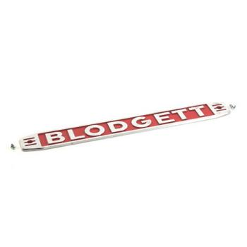 26005 - Blodgett - 11255 - Name Plate Product Image