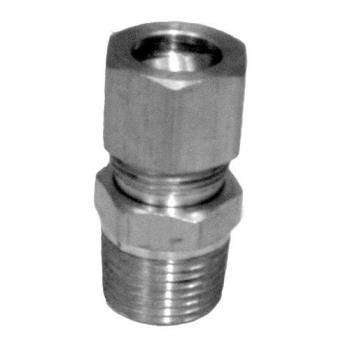 "262183 - Commercial - 3/8"" x 7/16"" Brass Gas Connector Product Image"