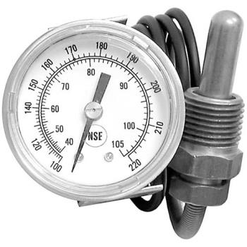 "621074 - Jackson - 6685-111-68-48 - 100° - 220° U-Clamp Thermometer w/ 48"" Lead Product Image"
