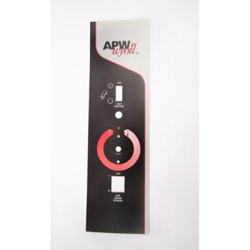 8001824 - APW Wyott - 58173 - M M-95-2 Control Plate Label Product Image