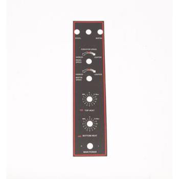 8001913 - APW Wyott - 82888 - BT-15 Dual Spd/ Control Plate Product Image