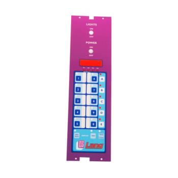 8004273 - Lang - 2M-60301-42 - Label Panel Purple Product Image