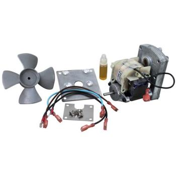 681228 - Prince Castle - 87-028AS - 220 Volt Motor w/ Mounting Bracket & Fan Product Image