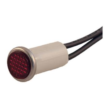 "42256 - Commercial - 1/2"" Red Indicator Light W/ Wire Leads Product Image"