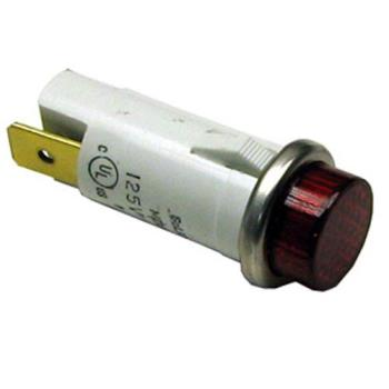 42248 - Nemco - 45380-1 - 125 Volt Red Signal Light Product Image